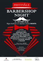 "Festivāls ""BARBERSHOP NIGHT"""